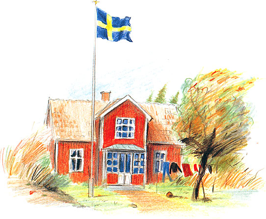 Sveriges Nationaldag 6 jun 2016 Svenska flaggans dag